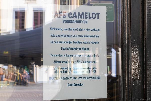 Cafe Camelot, Groenmarkt