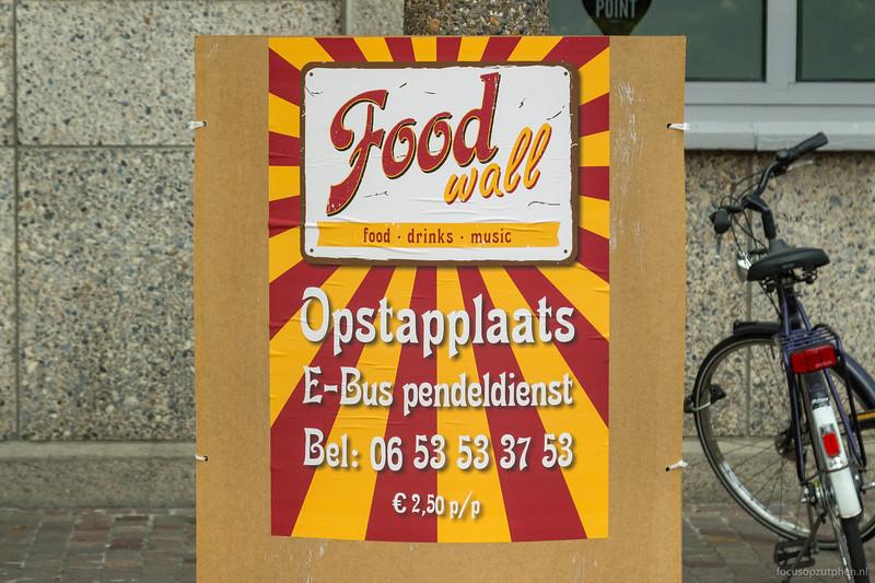 Foodwall opstapplaats