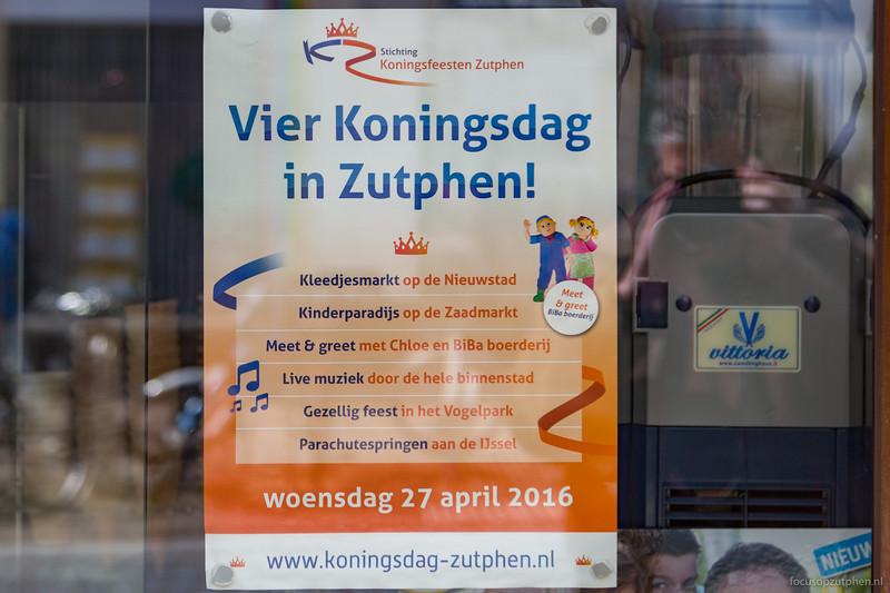 Vier Koningsdag in Zutphen!