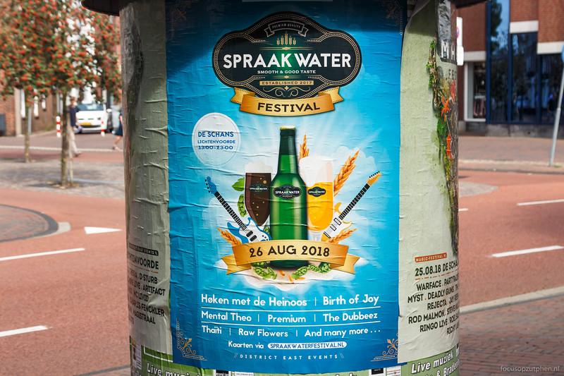 Sprraakwater Festival