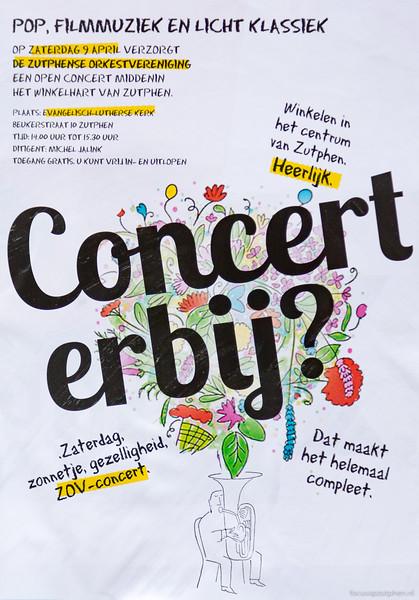 Concert erbij?