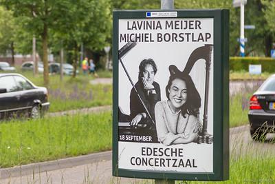 Lavinia Meijer en Michiel Borstlap