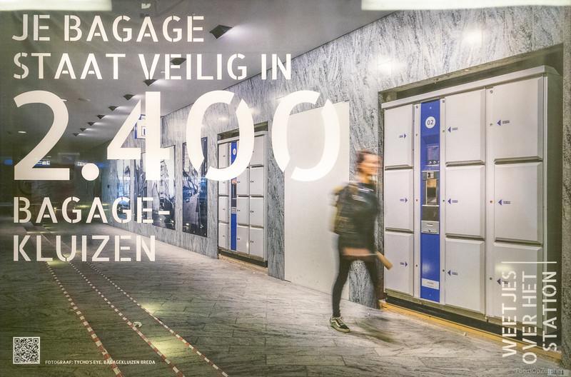 2400 bagagekluizen