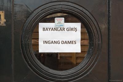 Ingang dames