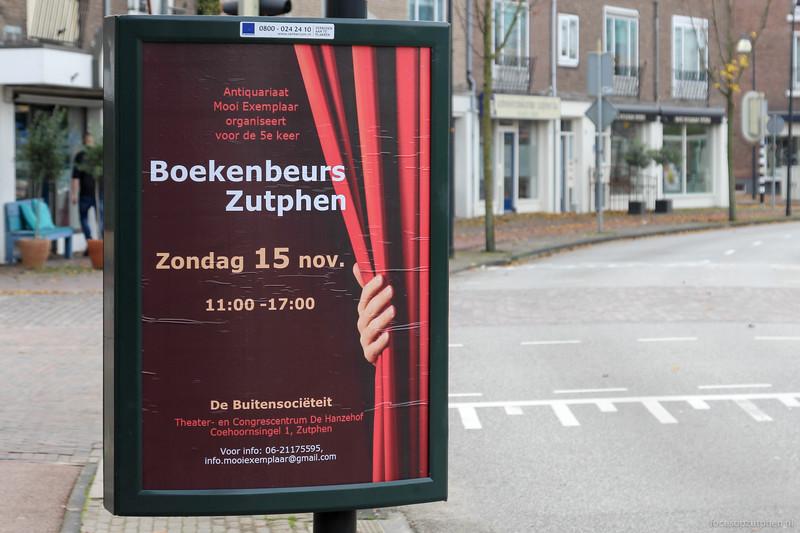 Boekenbeurs Zutphen
