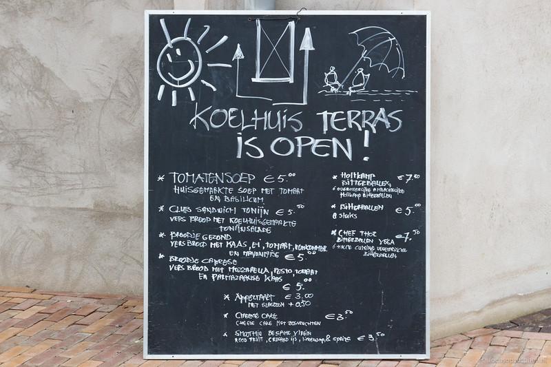 Terras is open!