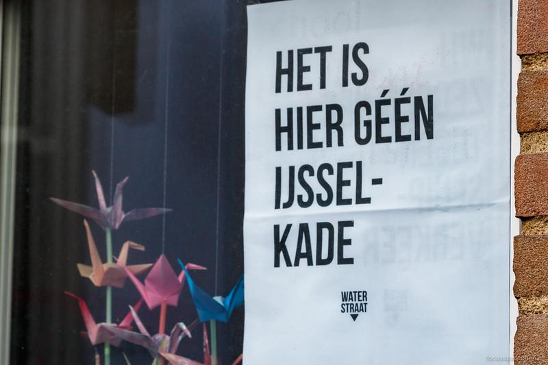 Het is hier géén IJsselkade