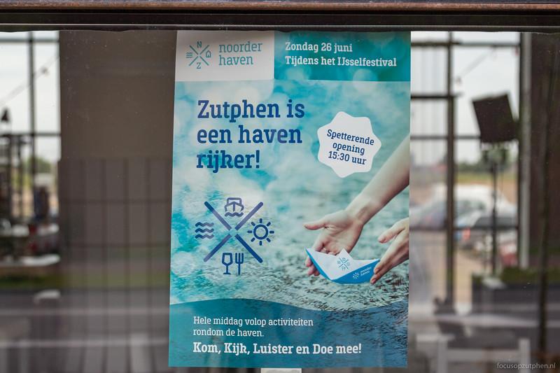 Zutphen is een haven rijker