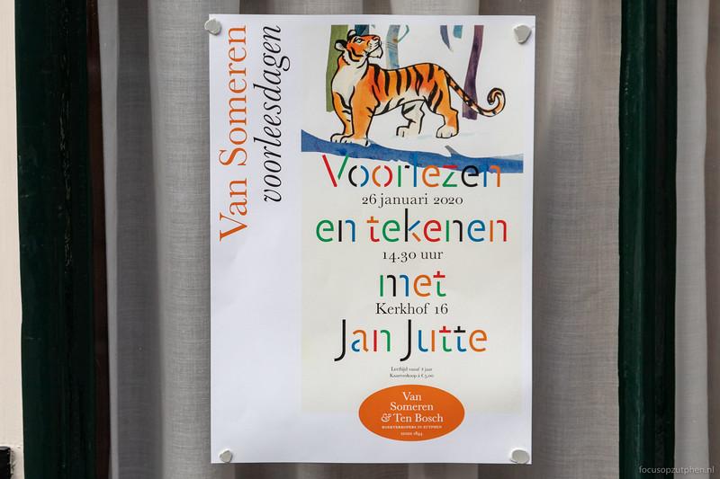Voorlezen en tekenen met Jan Jutte