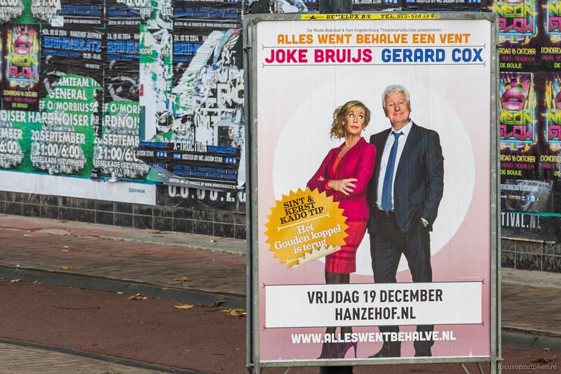 Joke Bruijs en Gerard Cox, Alles went behalve een vent