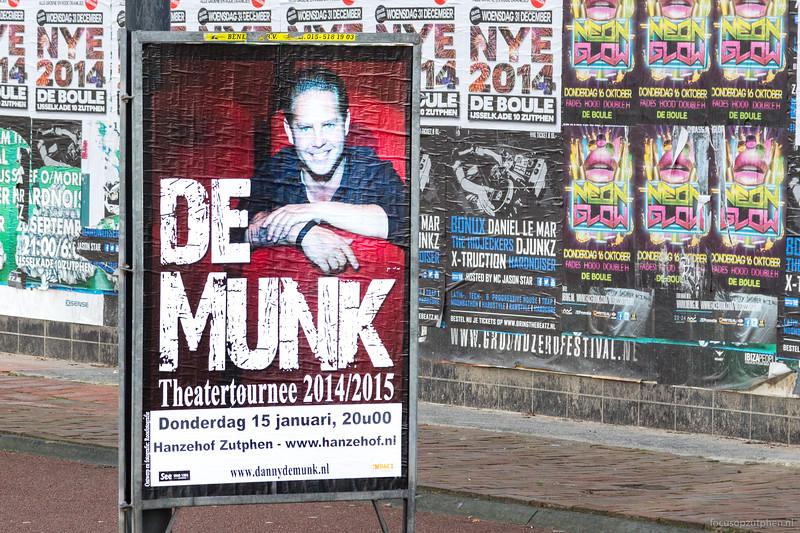 De Munk, theatertournee 2014/2015