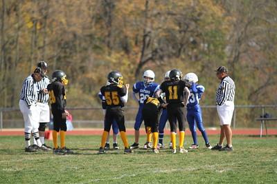 Bordentown Bulldogs vs Westville 10-31-10