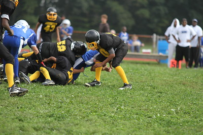 Bordentown Bulldogs vs Northern Burlington 9-25-11