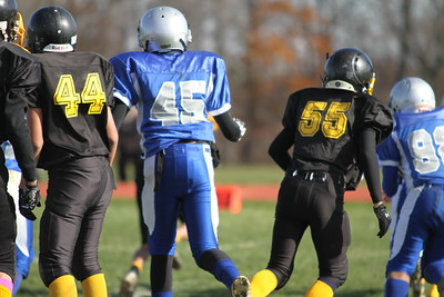 Bordentown Bulldogs (130s) vs Northern Burlington Playoff 11-19-11