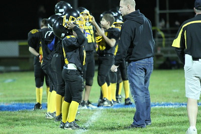 Bordentown Bulldogs vs Wesville 10-7-11