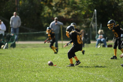 Bordentown Bulldogs vs St Petes 10-15-11