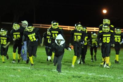 Bordentown Bulldogs 130s vs Logan 10-12-12