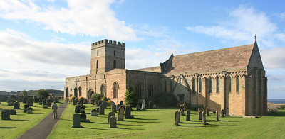 Bamburgh Parish Church.