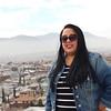 WELCA/Ammparo Border Immersion trip, February 1-5 2020, El Paso, Texas | <br /> <br /> <br /> Jen DeLeon standing at the overlook in Murchison Park, El Paso, Texas.