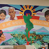 "WELCA/Ammparo Border Immersion trip, February 1-5 2020, El Paso, Texas | <br /> <br /> <br /> Inside Annunciation House, El Paso. The mural reads:"" If they kill me, I will rise again with my people."""