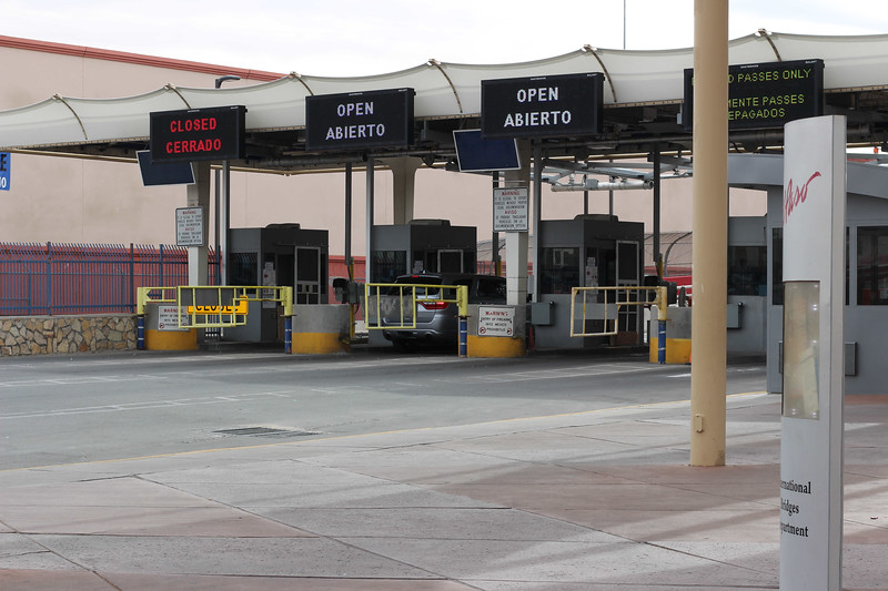WELCA/Ammparo Border Immersion trip, February 1-5 2020, El Paso, Texas | <br /> <br /> <br /> A short driving tour of downtown El Paso and a visit to one of the ports of entry at the border with Ciudad Jaurez, Mexico.