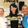 WELCA/Ammparo Border Immersion trip, February 1-5 2020, El Paso, Texas | <br /> <br /> <br /> Pastor Rose Mary, Lisa Plorin and Pastor Juan de Dios Lopez.