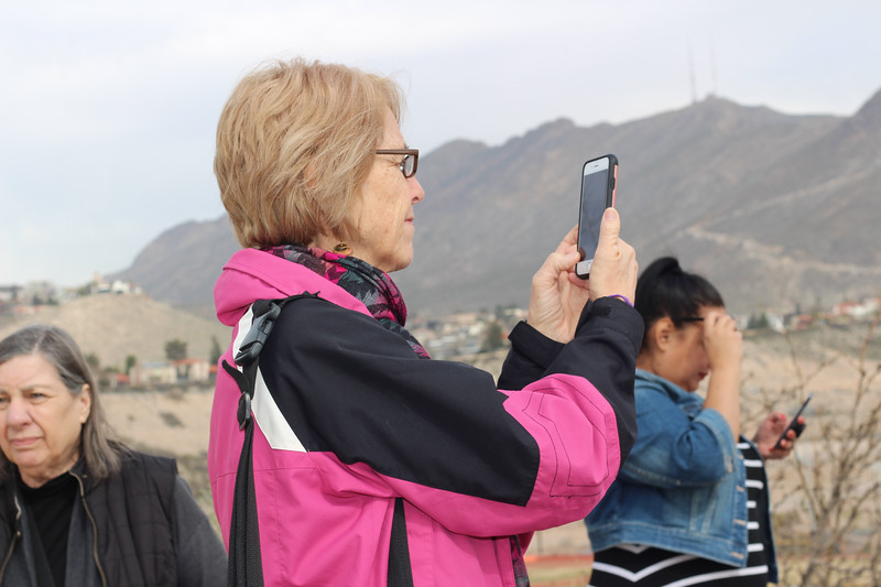 WELCA/Ammparo Border Immersion trip, February 1-5 2020, El Paso, Texas | <br /> <br /> <br /> El Paso, overlooking Jaurez, Mexcio.