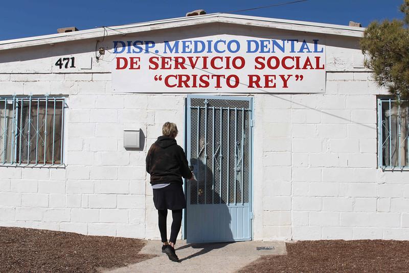WELCA/Ammparo Border Immersion trip, February 1-5 2020, El Paso, Texas | <br /> <br /> <br /> Cristo Rey Medical Clinic, Juarez, Mexico. This clinic is supported by Cristo Rey, El Paso, Texas.