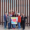WELCA/Ammparo Border Immersion trip, February 1-5 2020, El Paso, Texas |<br /> <br /> Left: Lisa Plorin, New Hope Lutheran, Upham, ND; Mary Meierotto, Bethesda, Bainfield, Wis.; Laurie Tanner, Denver, Co.; Jen DeLeon, Iglesia Luterana De La Trinidad, Chicago, Il.; Diane Kaufman, Immanuel, Eau Claire, Wis.; Dinah Halpoka, Christ the King, University City, Texas; Mary Campbell, ELCA program director, AMMPARO;  and Lois Griffiths, Good Shepherd, Harrisburg, Pa.