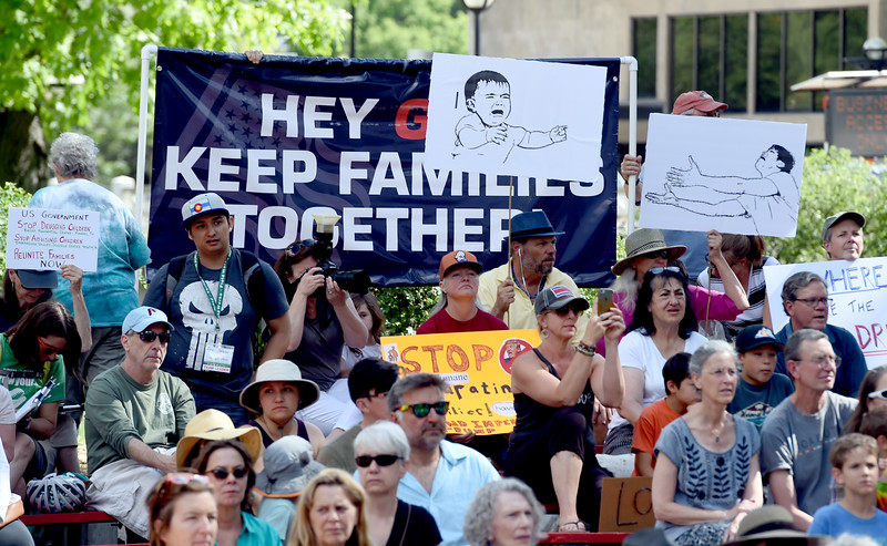 Separation Policy Protest in Boulder