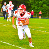North MIddlesex's Jake Hachey looks for the sideline. Nashoba Valley Voice/Ed Niser