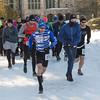 Trail  snd Snoeshoe race start