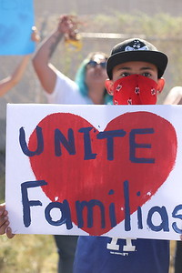 A look into life in the borderlands following President Trumps 'Zero Tolerance' immigration policy took effect. A whirlwind of a week followed including numerous protests and gatherings in both El Paso Texas and near the sleepy town of Tornillo TX. Gabriela Campos/The New Mexican