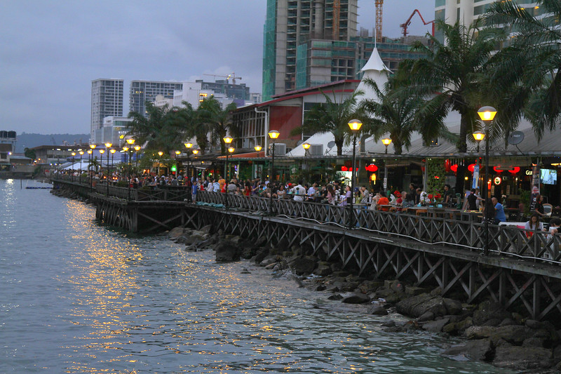 The Waterfont bars and restaurants