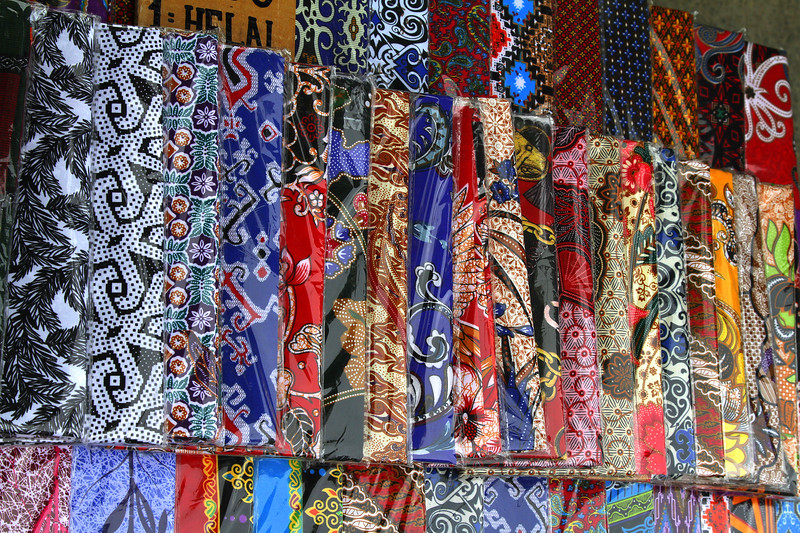 Eye catching materials available for clothing