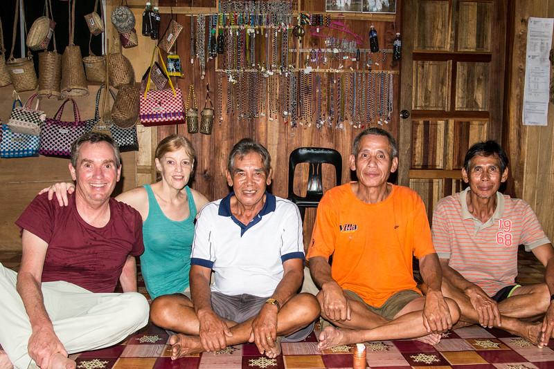 Nanga Sumpa Chief and Friends