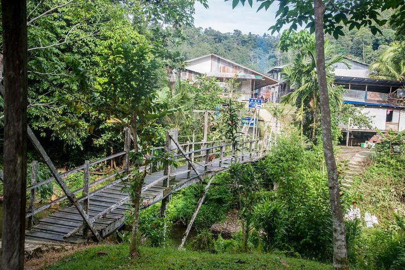 Nanga Sumpa Longhouse Buildings