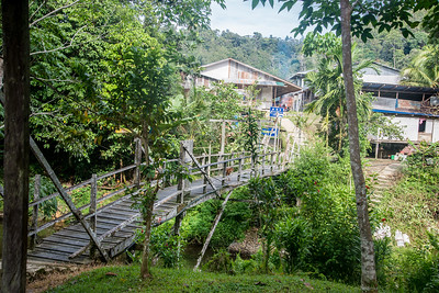 Nanga Sumpa Longhouse Buildings