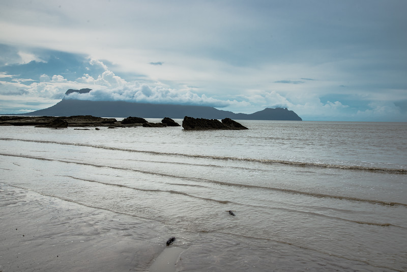 Beach at Bako