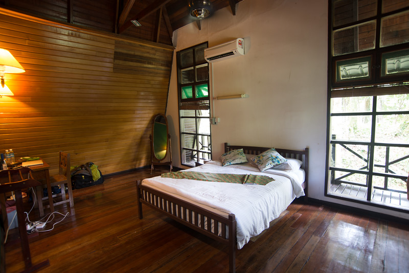 Tabin Wildlife Lodge Room