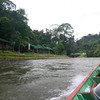 Approaching the Information Centre for Ulu Temburong National Park