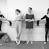 USA. New York City. American Ballet Theatre. Dancers Deanne Albert, Cynthia Balfour, Cynthia Anderson, Cheryl Yeager and Alessandra Ferri. 1987.