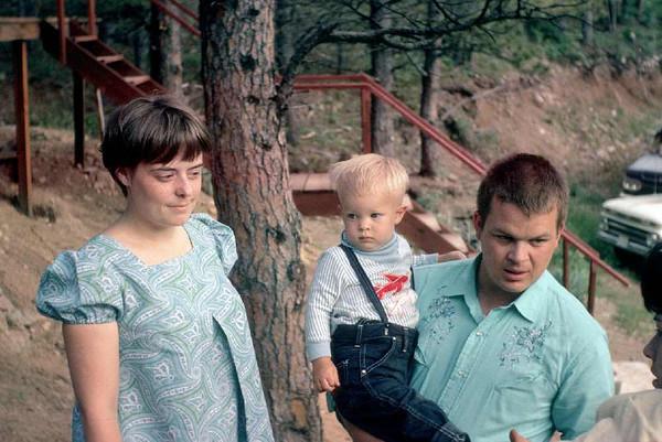 My sister Karen, son Stephanie and Bruce Wagner.