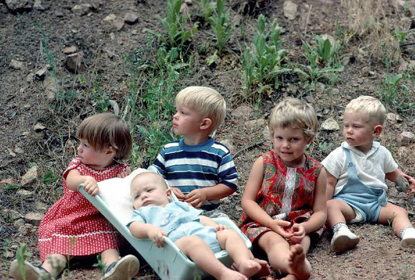 Stephanie Wagner, baby Philip Wagner, Phillip Wagner, Sherrie and David.