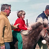 Dad, Sherrie, and Uncle Don. Horse name ??