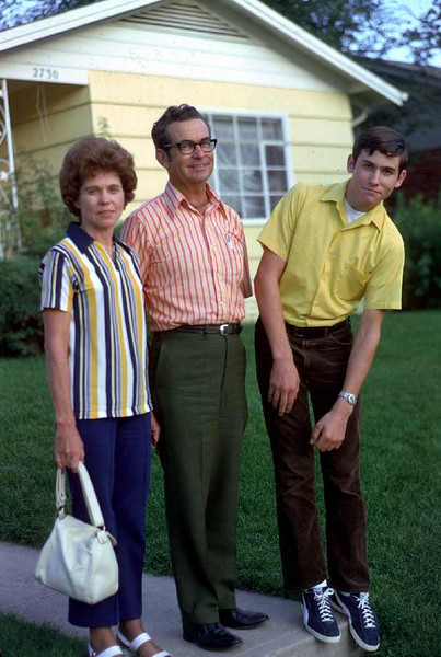 Aunt Phyllis and Uncle William Pickens (dad's sister) and their son Glenn.