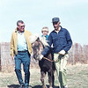 Dad, Dave on horse, Uncle Don Hintergardt.