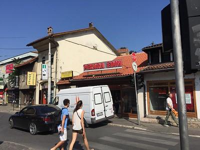 Bakery 'Edin' in Sarajevo