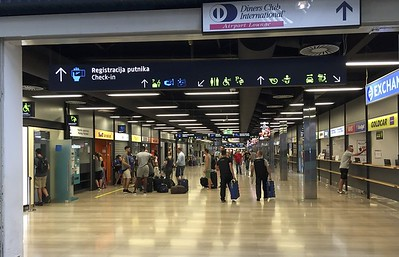 Zagreb's airport.
