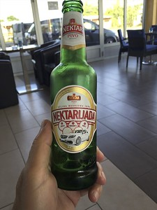This is a local Bosnian beer.